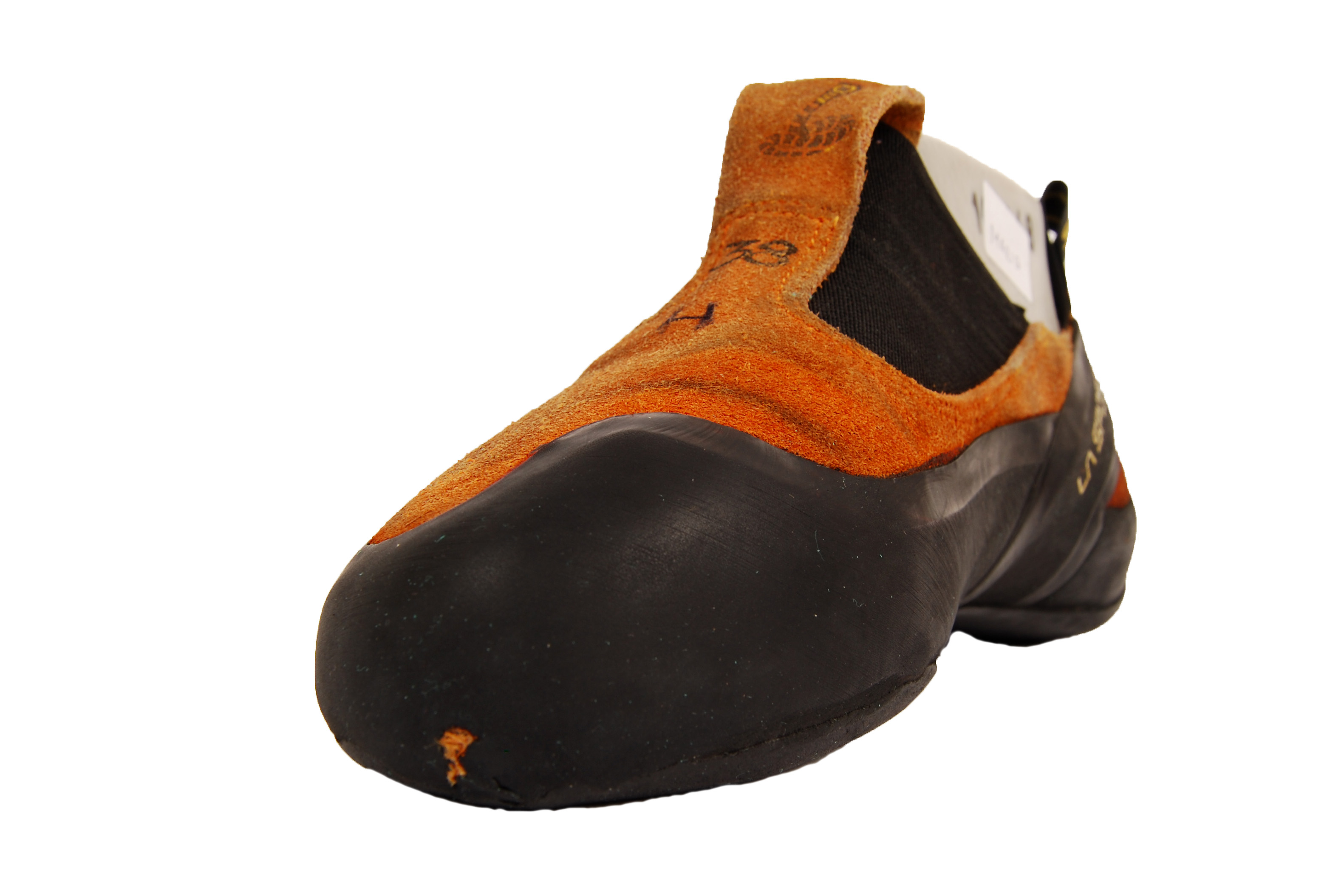 how to clean leather climbing shoes